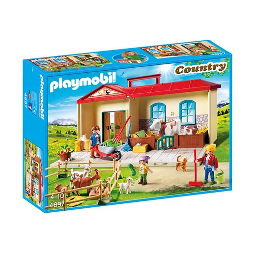 Playmobil - Granja Maletín - 4897