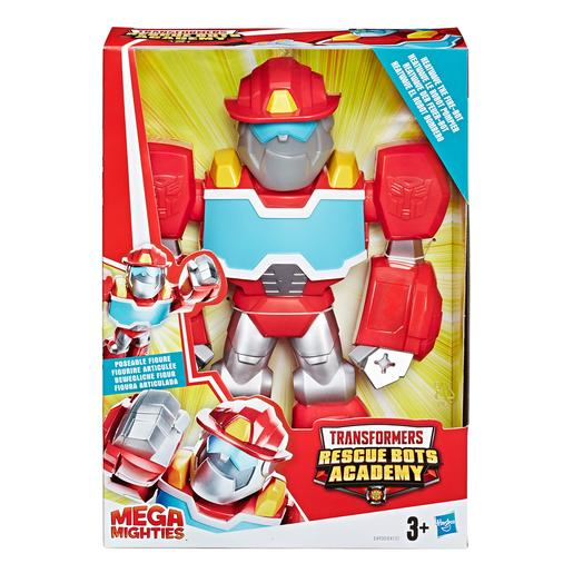 Transformers - Heatwave - Figura Rescue Bots Academy Mega Mighties