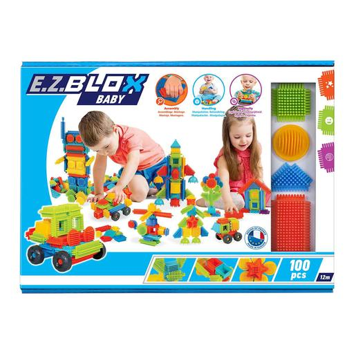 EZ Blox - Pack 100 Bloques de Construcción