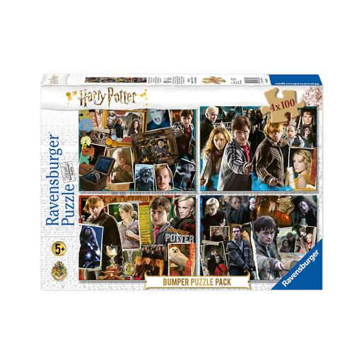 Ravensburger - Puzzle 4 en 1 Harry Potter