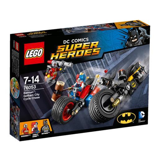 LEGO Súper Héroes - Batman: persecución en moto por Gotham City - 76053