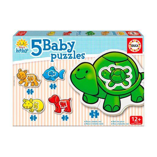 Educa Borrás - Animales Domésticos - Baby Puzzle