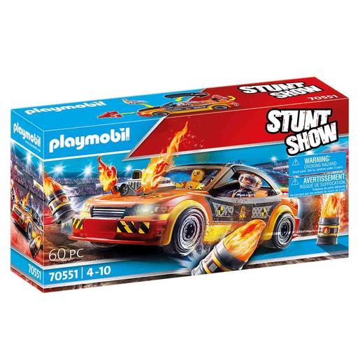 Playmobil - Stuntshow Crashcar - 70551