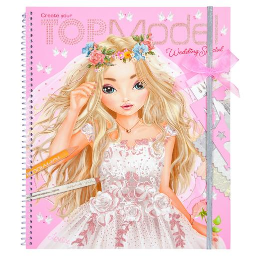 Top Model - Create Your Wedding Special Libro para Colorear