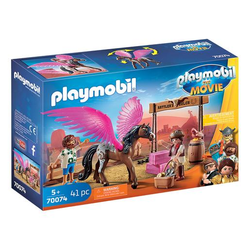 Playmobil - Marla, Del y Caballo con Alas Playmobil The Movie - 70074