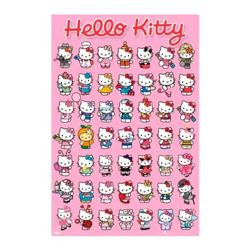 Hello Kitty - Póster 61 x 91 cm