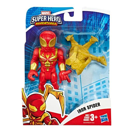 Spider-Man - Iron Spider - Figura Super Hero Adventures