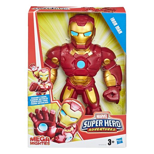 Iron Man - Figura Super Hero Aventures Mega Mighties