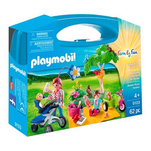 Playmobil - Maletín Grande Picnic Familiar - 9103