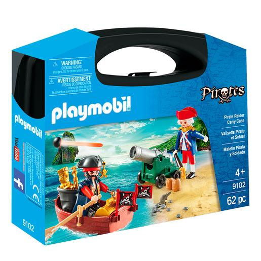Playmobil - Maletín Grande Pirata y Soldado - 9102