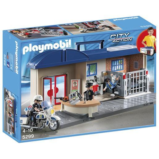 Playmobil - Estación de Policía Maletín - 5299