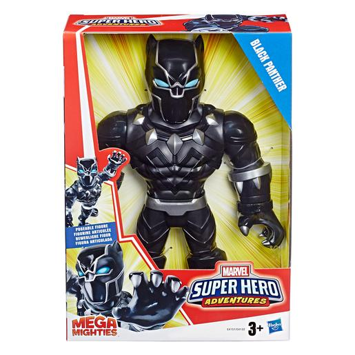 Black Panther - Figura Super Hero Aventures Mega Mighties