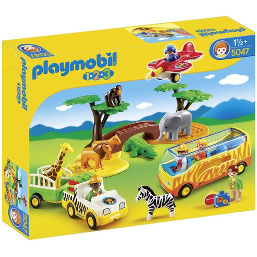 Playmobil 1.2.3 - Safari - 5047