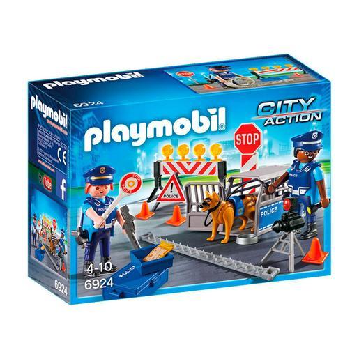 Playmobil - Control de Policia - 6924