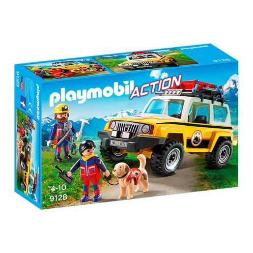Playmobil - Vehículo de Rescate de Montaña - 9128