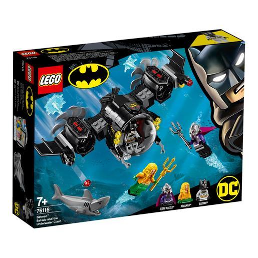 LEGO Superhéroes - Batsubmarino de Batman y el Combate Bajo el Agua - 76116