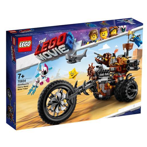 LEGO La Película 2 - Trimoto Metálica de Barbagris - 70834