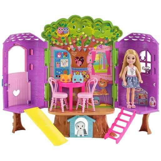 Barbie - Casita del Árbol de Chelsea