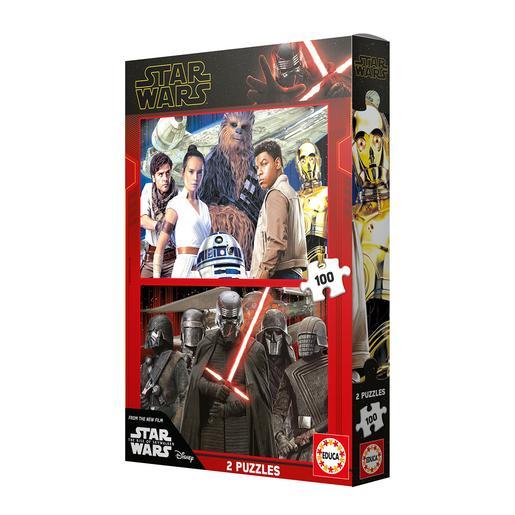 Educa Borrás - Star Wars - Pack Puzzles 2x100 Piezas