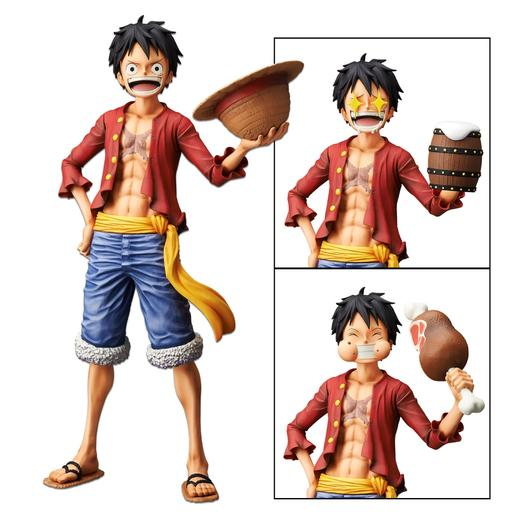 One Piece - Monkey D. Luffy - Figura Grandista Nero