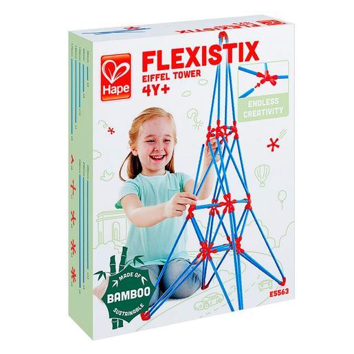 Hape - Juego de Construcción Flexistick Torre Eiffel