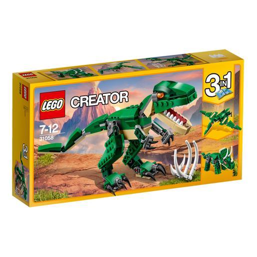 Lego Creator Grandes Dinosaurios 31058 Lego Creator Tienda De Juguetes Y Videojuegos Jugueteria Online Toysrus Descubre los dinosaurios marinos de juguete y figuras de peces prehistóricos de las mejores marcas. lego creator grandes dinosaurios 31058