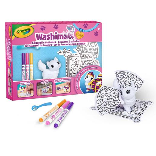 Washimals - Set de accesorios princesa