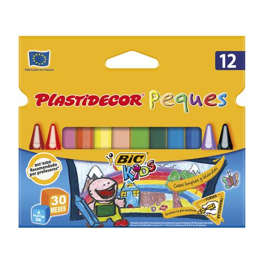 Bic - Plastidecor 12 Triangular Kids