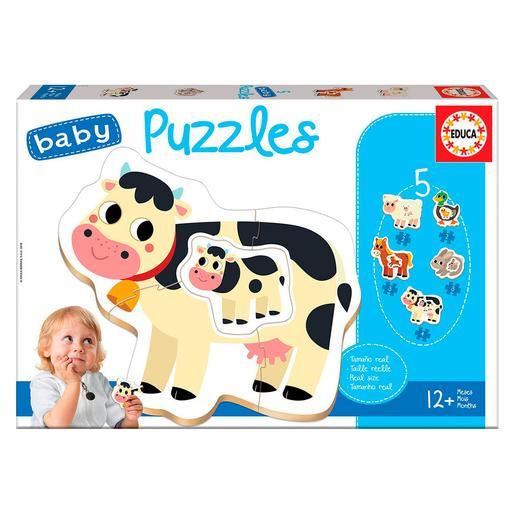 Educa Borrás - Animales de Granja - Baby Puzzle
