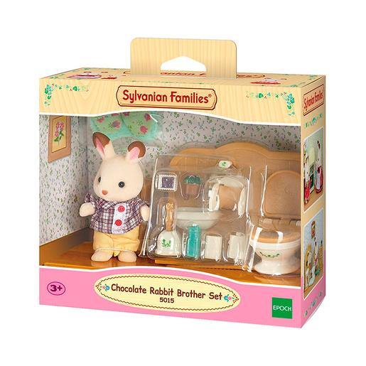 Sylvanian Families - Set Hermano Conejo Chocolate
