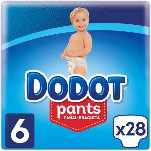 Dodot - Pañales Pants T-6 28 Unidades