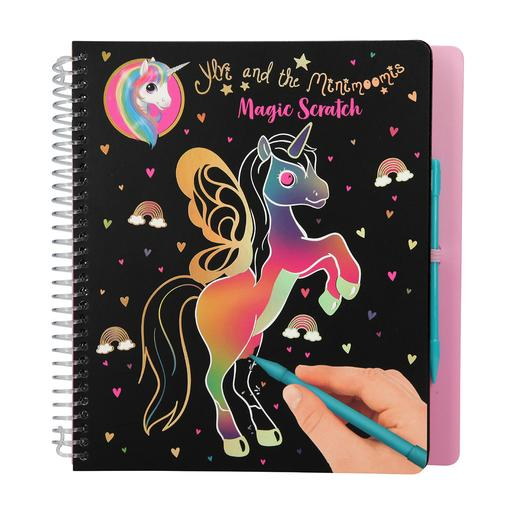 Ylvi & The Minimoomis - Cuaderno Unicornio Magic Scratch