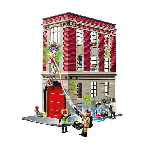 Playmobil - Cuartel Parque Bomberos Ghostbusters - 9219