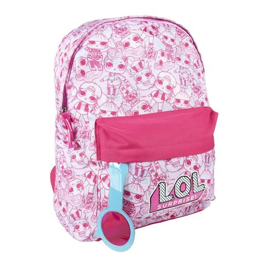 LOL Surprise - Mochila Casual Rosa 41 cm