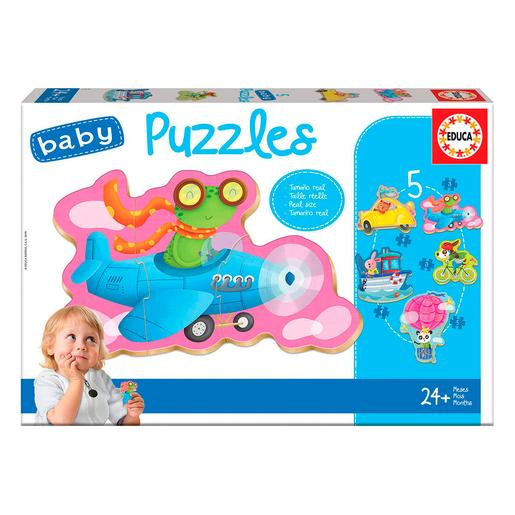 Educa Borrás - Animales al Volante - Baby Puzzle