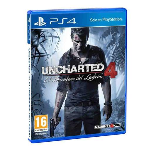 PS4 - Uncharted 4: El Desenlace Del Ladrón