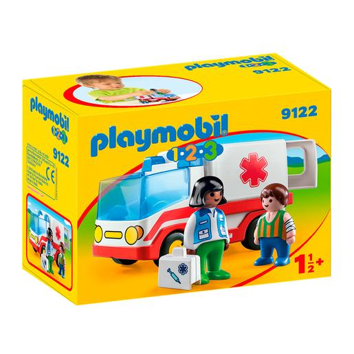Playmobil 1.2.3 - Ambulancia - 9122