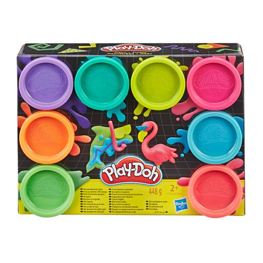 Play-Doh - Pack 8 Botes (varios colores)