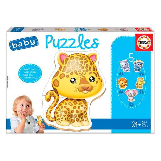 Educa Borrás - Animales Salvajes - Baby Puzzle