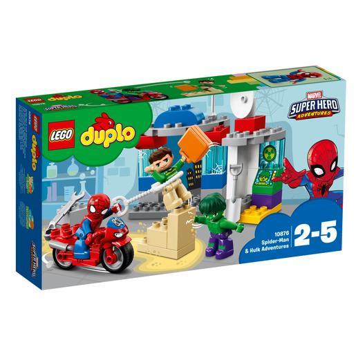LEGO DUPLO - Las Aventuras de Spider-Man y Hulk - 10876