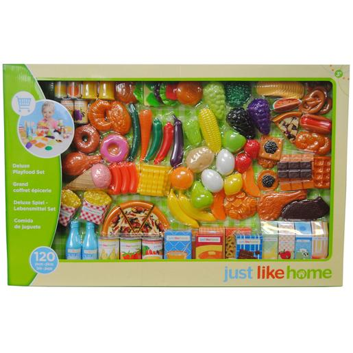 Just Like Home - Set Comiditas 120 Piezas