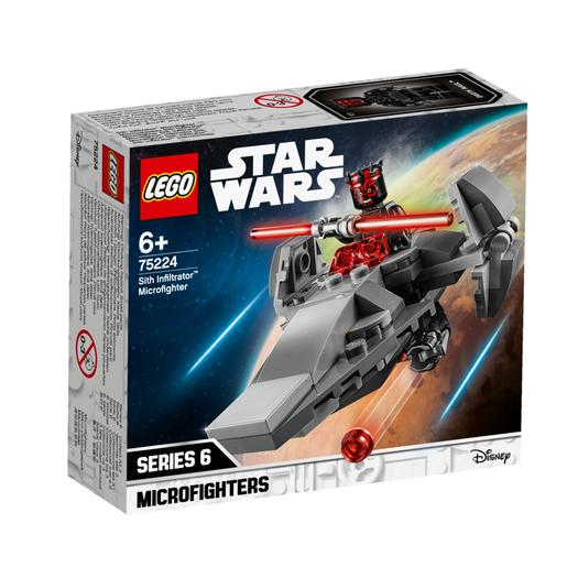 LEGO Star Wars - Microfighter Infiltrador Sith - 75224