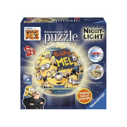 Ravensburger - Gru - Lámpara Puzzle 3D Gru 3