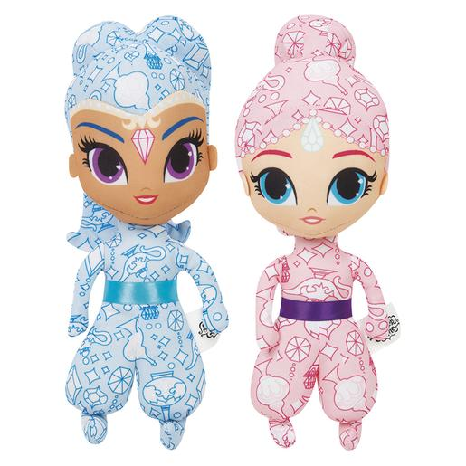 Shimmer y Shine - Colorea Shimmer y Shine