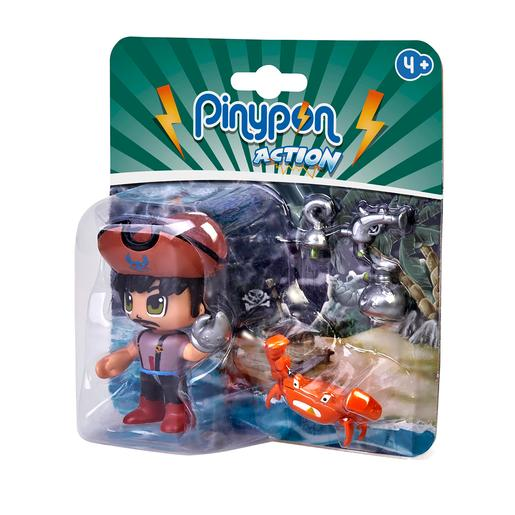 Pinypon Action - Pack Pirata y Cangrejo