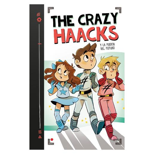 Libro The Crazy Haacks y la Puerta del Futuro
