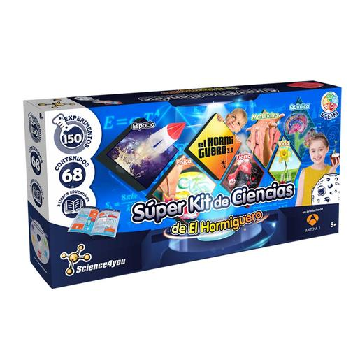 Science4you - Súper Kit de Ciencias de El Hormiguero (varios modelos)