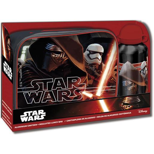 Star Wars - Pack Portameriendas + Cantimplora