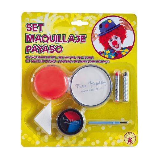 Disfraz Infantil - Set de Maquillaje Payaso 5-7 años