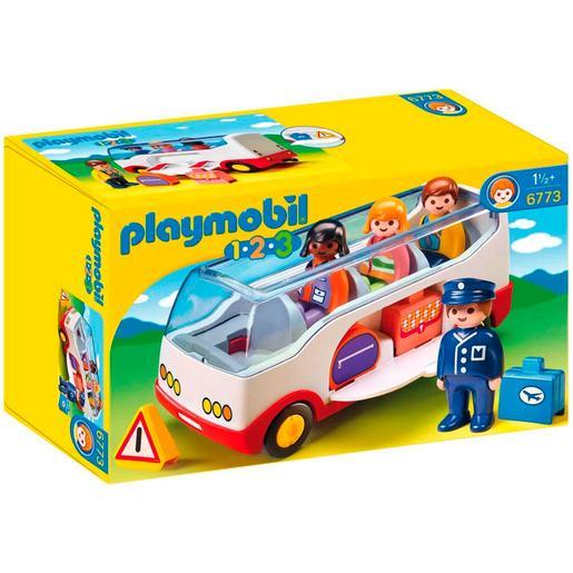 Playmobil 1.2.3 - Autocar - 6773